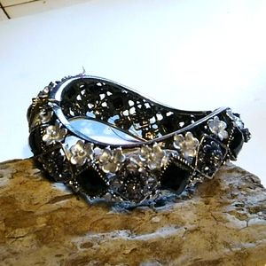 Nwt Black and Grey Bracelet